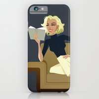 iPhone & iPod Case featuring Marilyn Monroe by Hand Drawn Creative