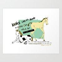 Baby Horse Art Print