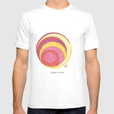 Cirque-Cle #6 White SMALL Mens Fitted Tee