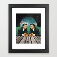 Double Take Framed Art Print