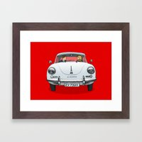 Porsche Framed Art Print