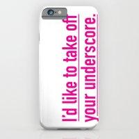 Score With The Underscor… iPhone 6 Slim Case