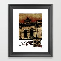 Bleak Framed Art Print