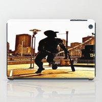 Roberto's Shadow Lives In Roberto's City iPad Case