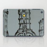 Little City Hall Sketch iPad Case