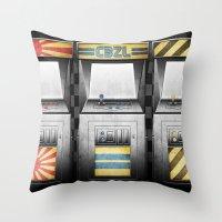 Arcade Machines Throw Pillow