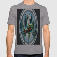 Raindrop Wars Mens Fitted Tee Athletic Grey SMALL