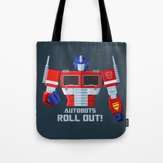 Autobots, Roll Out! (Opt… Tote Bag