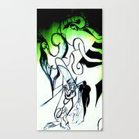 Transparent Nightmare Wi… Canvas Print