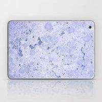 Marble - Blue Laptop & iPad Skin