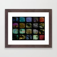 Boxed In Framed Art Print