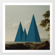 Landscape 21 Art Print