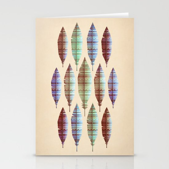 native bling (variant) Stationery Card