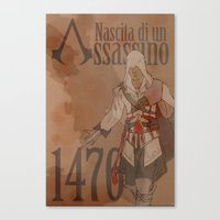 Birth of an Assassin Canvas Print