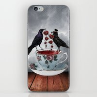 TEA AND A LIL' LOVE iPhone & iPod Skin