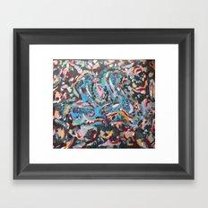Wings of A. Framed Art Print