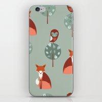 Fox Woods iPhone & iPod Skin