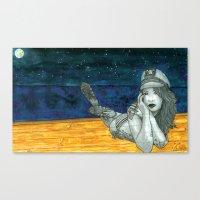 Sailor GhostBabe Canvas Print