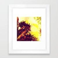 Tropical Plants Framed Art Print