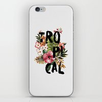 Tropical I iPhone & iPod Skin