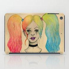 HARLEY QUINN FANART  iPad Case