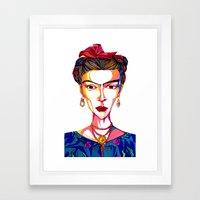 Friducha  Framed Art Print