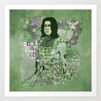 Portrait Of A Potions Ma… Art Print
