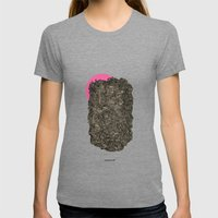 - obscure the pink shade of the sun - Womens Fitted Tee Tri-Grey SMALL