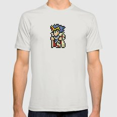 Final Fantasy II - Paladin Cecil Mens Fitted Tee Silver SMALL