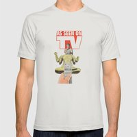Could It Be True ? Mens Fitted Tee Silver SMALL