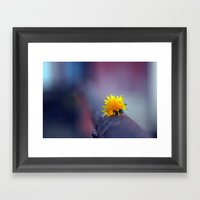 Into The Fray Framed Art Print