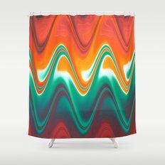 RainbowVibration Shower Curtain