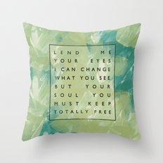 Awake My Soul II Throw Pillow
