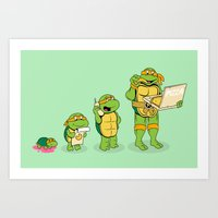 One Mutation With Extra … Art Print