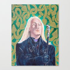 Lucius Malfoy Canvas Print