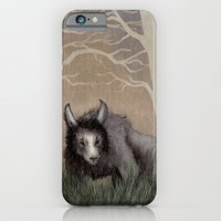 iPhone & iPod Case featuring Forest Beastie by Mr Patch