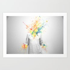 Colorful Madness Art Print