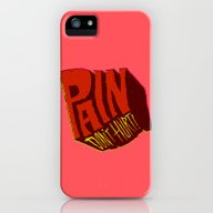 Pain Don't Hurt iPhone (5, 5s) Slim Case