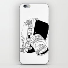 Camera Drawing iPhone & iPod Skin