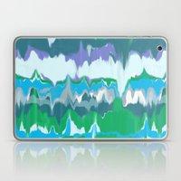 Marbled In Jewel Laptop & iPad Skin