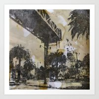 The Embarcadero On Mylar… Art Print
