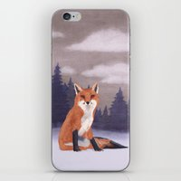 Lone Fox iPhone & iPod Skin