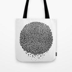 Black Sphere Tote Bag