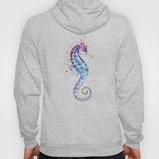 Seahorse: Purple Hoody