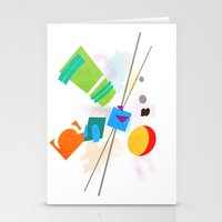 Rocko's Modern Art Stationery Cards