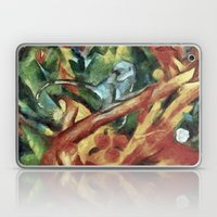 Monkey After Franz Ma… Laptop & iPad Skin