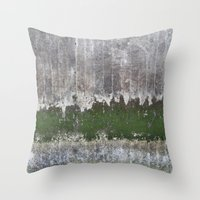 Clinging to Life Throw Pillow