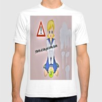 So Wrong Mens Fitted Tee White SMALL