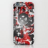 graffiti iPhone & iPod Cases featuring Graffiti  by Jonna Ivin