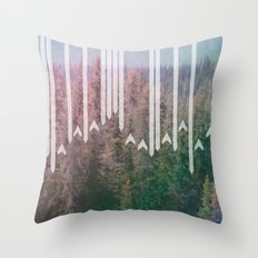 Paper Planes Throw Pillow